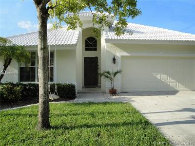 Boca Raton Single Family Home Active With Contract: 10259 Brookville Ln