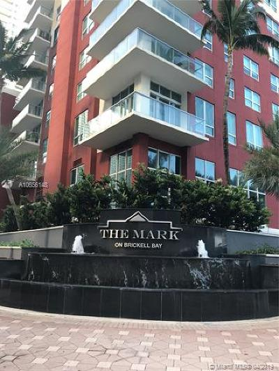 Mark On Brickell, Mark/Brickell Condo, The Mark At Brickell, The Mark On Brickell, The Mark, The Mark On Brickell Cond Rental For Rent: 1155 Brickell Bay Dr #2505