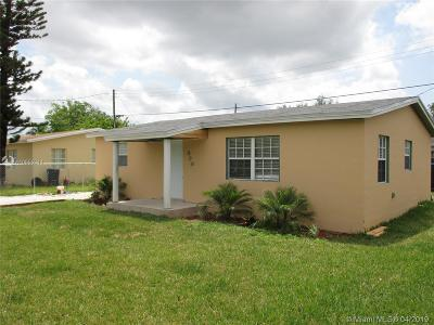 Florida City Single Family Home For Sale: 989 NW 14th St