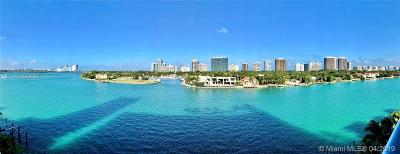 Bay Harbor Islands Condo For Sale: 10201 E Bay Harbor #604