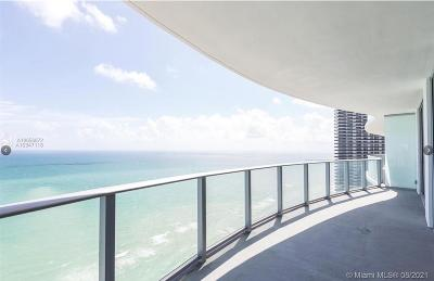 Hollywood Condo/Townhouse For Sale: 4111 S Ocean #3302