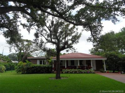 Miami Springs Single Family Home For Sale: 132 Glendale Dr