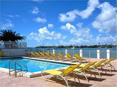 Miami Beach Condo For Sale: 1250 West Ave #14O