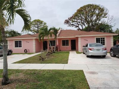 Miami Gardens Multi Family Home Active With Contract