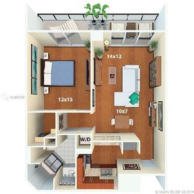 Rental Leased: 1500 Bay Rd #C-3109