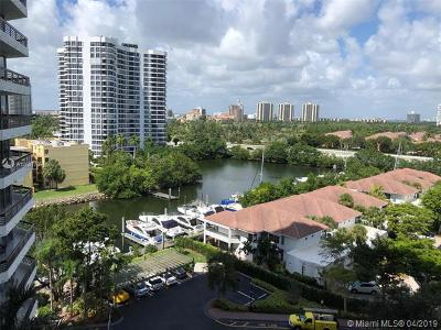 Aventura Condo For Sale: 3530 Mystic Pointe Dr #1008