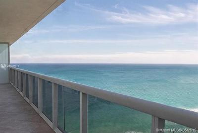 Hallandale Rental For Rent: 1830 S Ocean Dr #2703