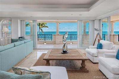 Miami Beach Condo For Sale: 8024 E Fisher Island Dr #8024