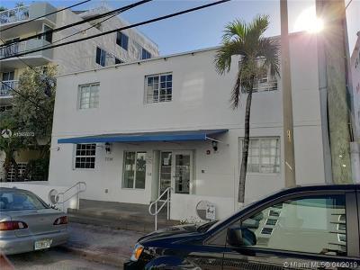 Miami Beach Condo For Sale: 7734 Abbott Ave #106