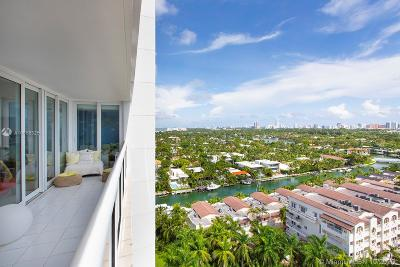 Miami Beach Condo For Sale: 1900 Sunset Harbour Dr #1803