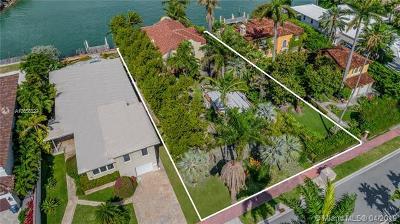 Miami Beach Residential Lots & Land For Sale: 244 W Rivo Alto Dr