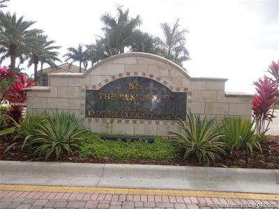 Miramar Condo For Sale: 2080 W Preserve Way #102