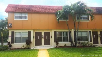 Plantation Single Family Home For Sale: 4730 NW 9th Dr