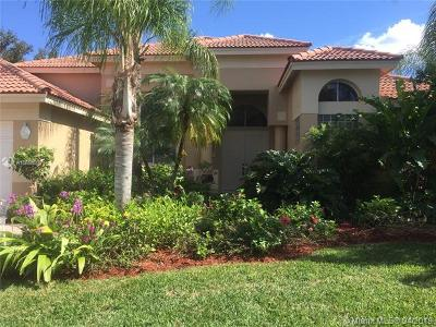 Weston Single Family Home For Sale: 3273 Muirfield