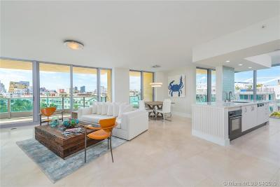 Miami Beach Condo For Sale: 1455 Ocean Dr #602
