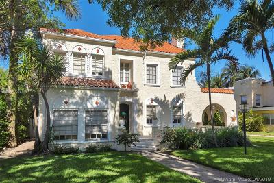 Miami Beach Single Family Home For Sale: 2350 Prairie Ave