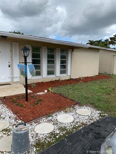 Deerfield Beach Single Family Home For Sale: 4810 NW 18th Ave
