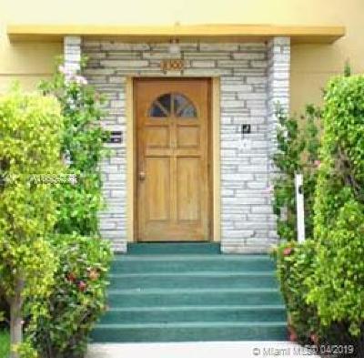Miami Beach Condo For Sale: 8320 Crespi Blvd #12