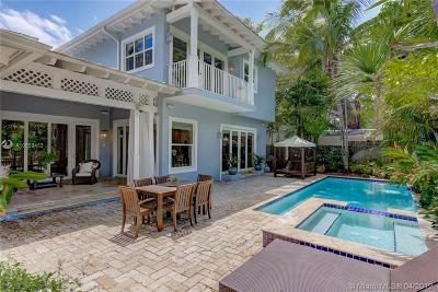 Miami FL Single Family Home For Sale: $2,000,000