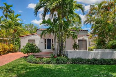 Coral Gables Single Family Home For Sale: 1311 Lisbon St