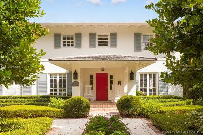 Coral Gables Single Family Home For Sale: 3416 Alhambra Cir