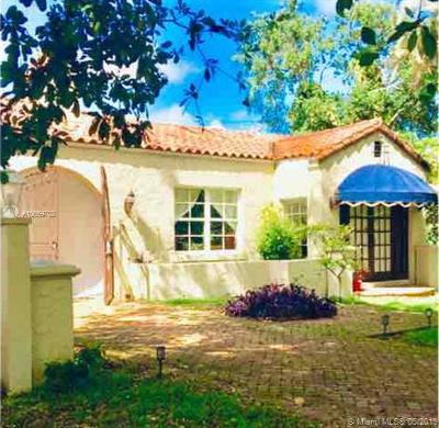 Coral Gables Single Family Home For Sale: 433 Cadagua Ave