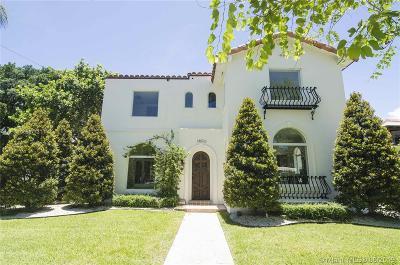 La Gorce Single Family Home For Sale: 5800 La Gorce Dr
