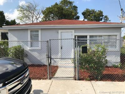 Miami-Dade County Single Family Home For Sale: 1717 NW 67th St