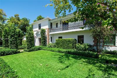 Miami Beach Single Family Home For Sale: 6001 La Gorce Dr