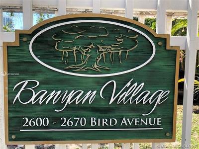 Miami Condo For Sale: 2670 Bird Ave #8
