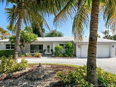 Fort Lauderdale Single Family Home For Sale: 2708 NE 26th St