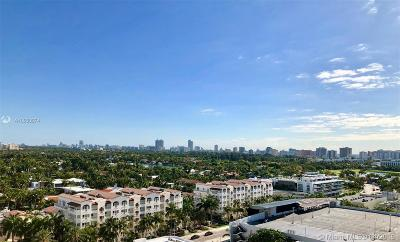 Miami Beach Condo For Sale: 1800 Sunset Harbour Dr #1611