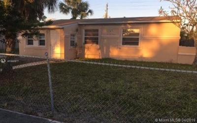 Fort Lauderdale Single Family Home For Sale: 420 NW 30th Ter