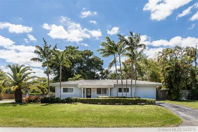 South Miami Single Family Home For Sale: 8160 SW 63rd Ct
