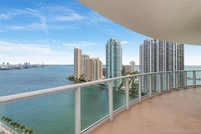 Miami-Dade County Condo For Sale: 300 S Biscayne Blvd #T-2010