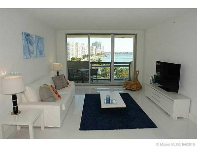 Miami Beach Condo For Sale: 1500 Bay Rd #732S