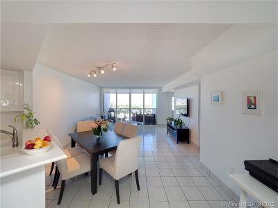 Miami Beach Condo For Sale: 1900 Sunset Harbour Dr #1615