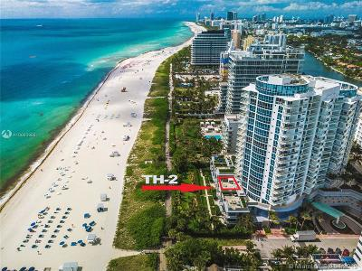 Miami Beach Condo For Sale: 3801 Collins Ave #TH-2