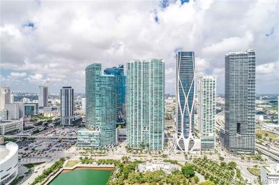 Miami-Dade County Single Family Home For Sale: 900 Biscayne Blvd Unit #5010
