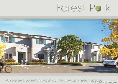 Florida City Condo For Sale: 1205 NW 3 Terrace #1