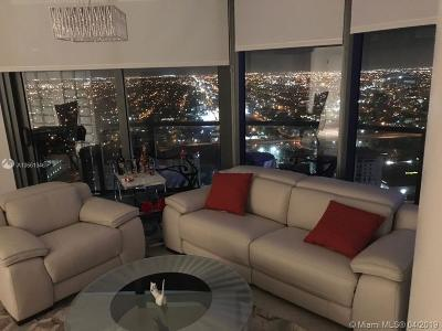 Miami-Dade County Condo For Sale: 55 SW 9th St #3908