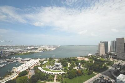 Miami-Dade County Condo For Sale: 244 Biscayne Bl #3202
