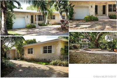 Coral Gables Single Family Home For Sale: 445 Aledo Ave