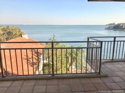 Miami-Dade County Condo For Sale: 1632 S Bayshore Ct #401