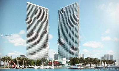 Miami-Dade County Condo For Sale: 480 NE 31 #4801