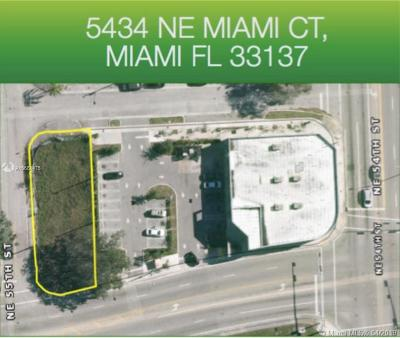 Commercial Lots & Land For Sale: 5434 NE Miami Ct
