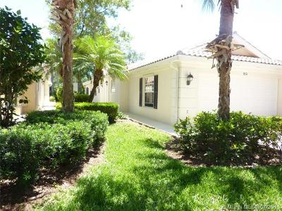Palm Beach Gardens Single Family Home For Sale: 169 Euphrates Circle