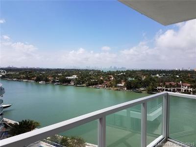 Miami Beach Condo For Sale: 6700 Indian Creek Dr #1003