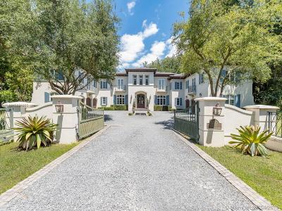 Coral Gables Single Family Home For Sale: 5225 Fairchild Way