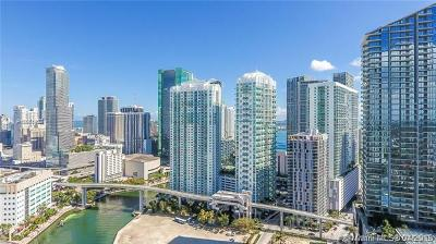 Miami-Dade County Rental For Rent: 41 SE 5th St #1610